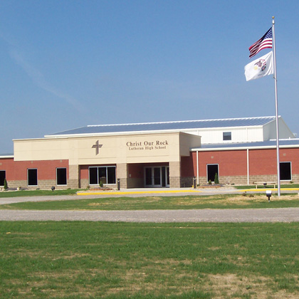 Christ Our Rock Lutheran High School Addition