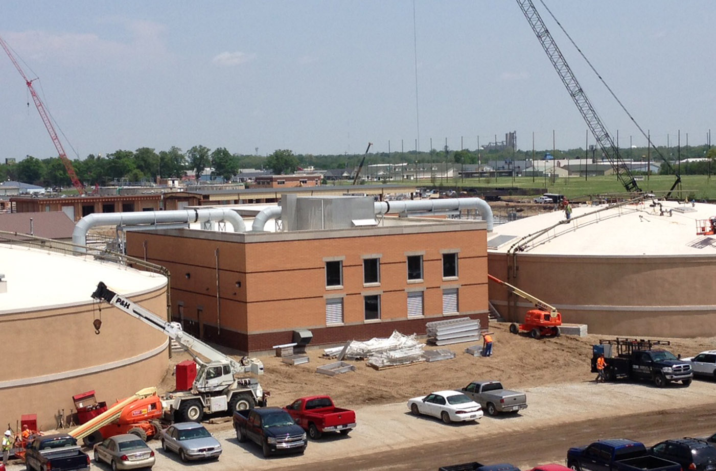 Plocher Construction - Terra Haute WWTP